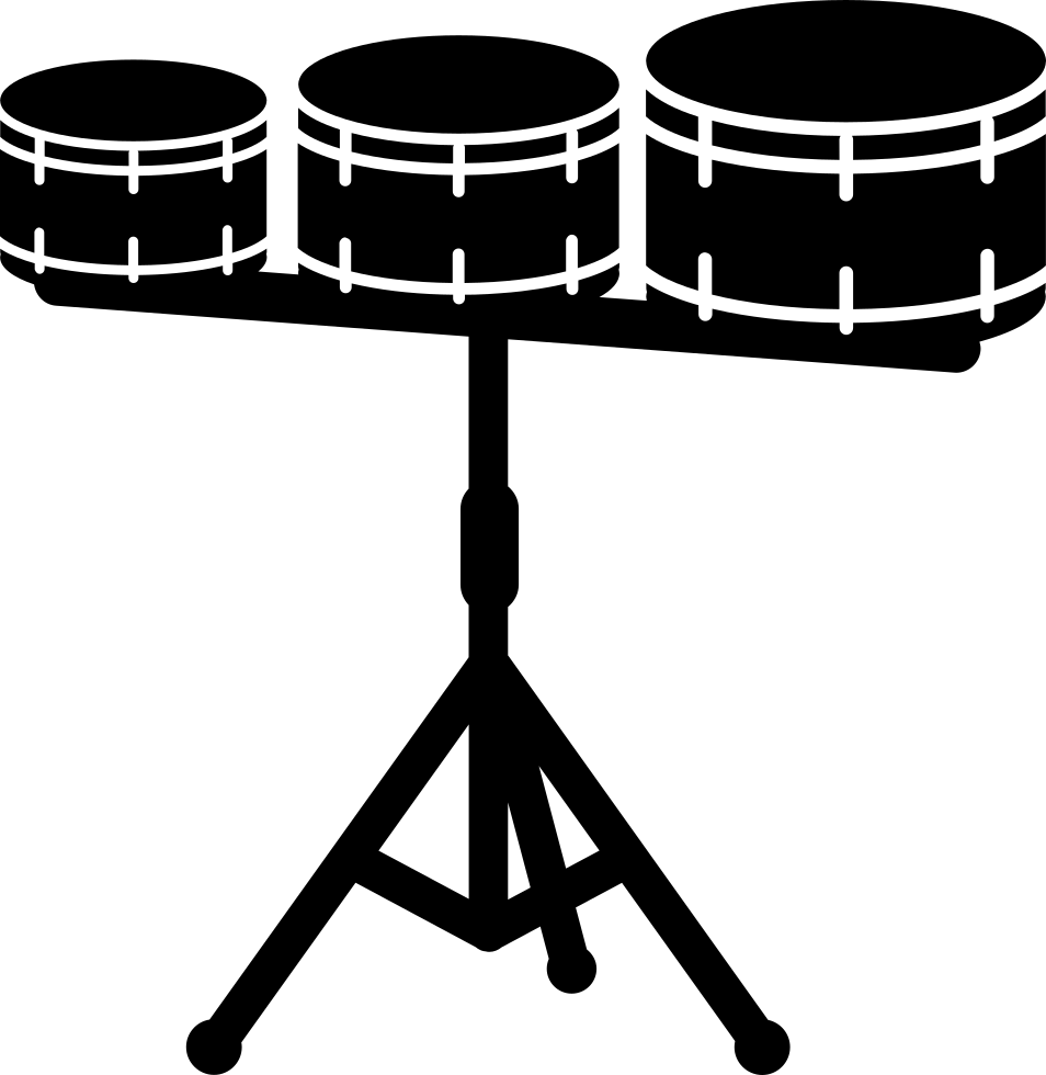 Snare Drums With Stand