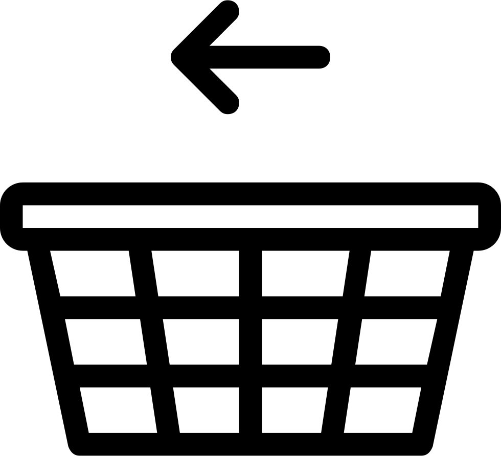 Move To The Left Of The Shopping Basket