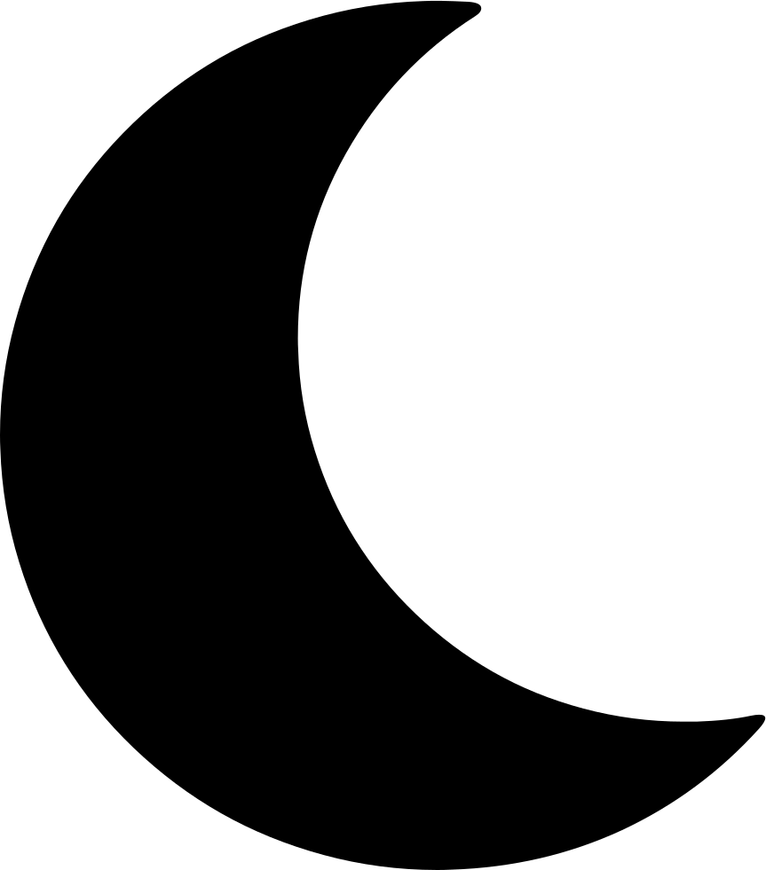 Moon Svg Png Icon Free Download (#425919)