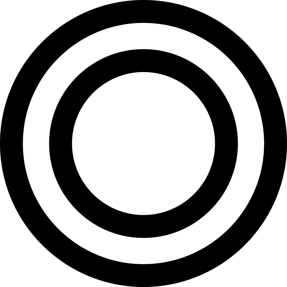 Concentric Circles Svg Png Icon Free Download (#42641 ...