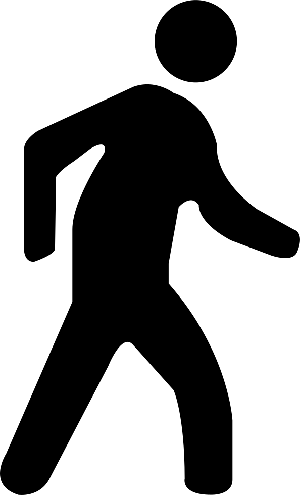 walking man svg png icon free download 427005
