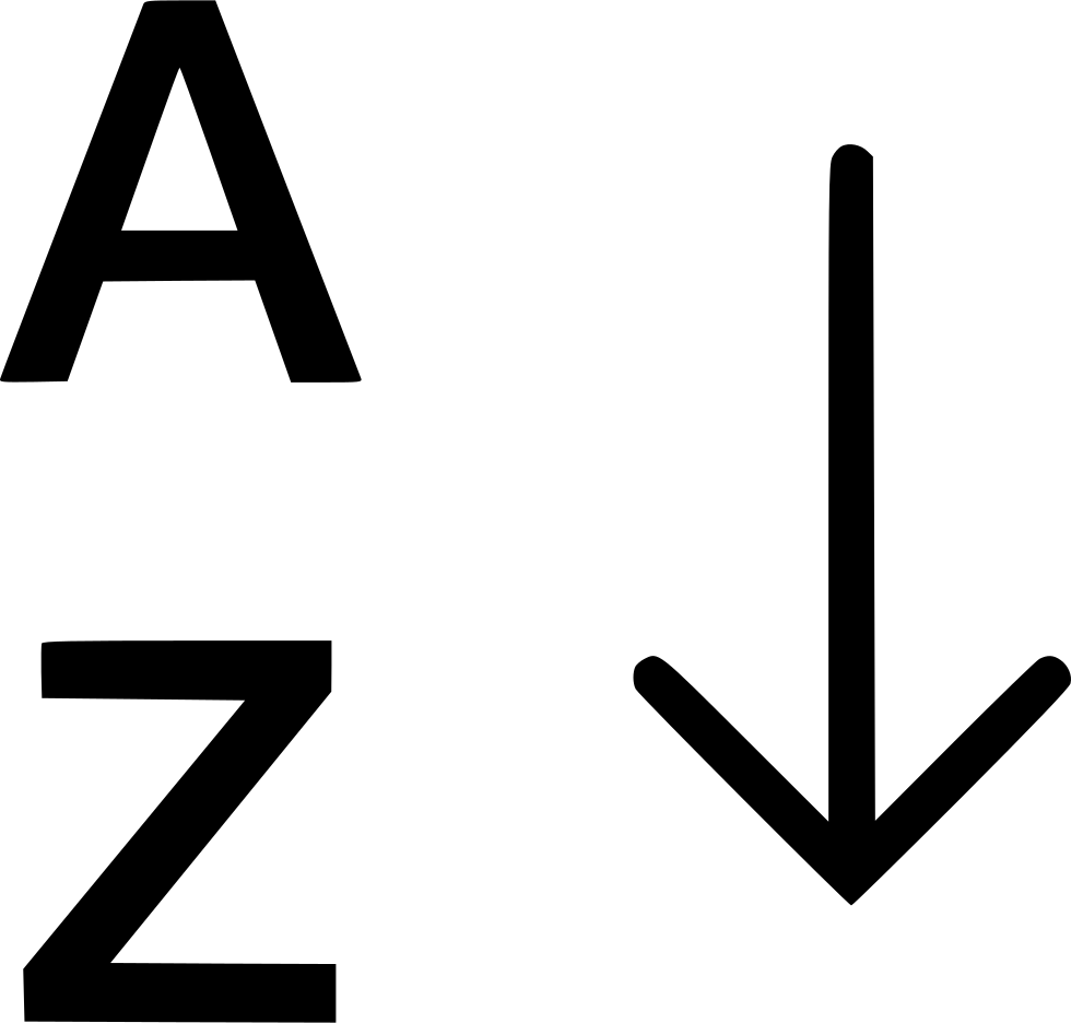 Alphabetical Sorting Az