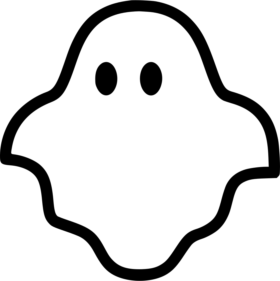 ghost svg png icon free download 431653