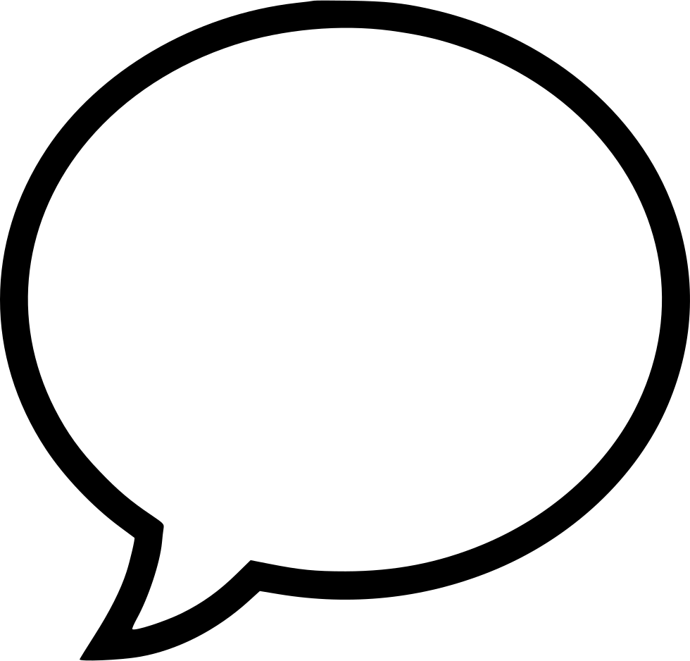Speech Bubble Svg Png Icon Free Download (#432687 ...