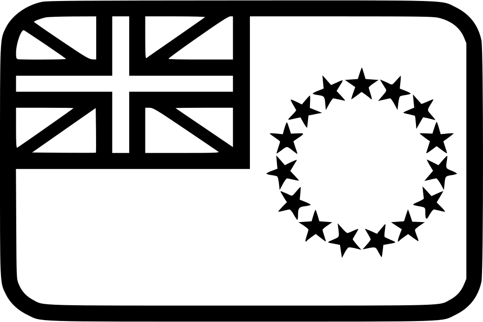 The Cook Islands Flag