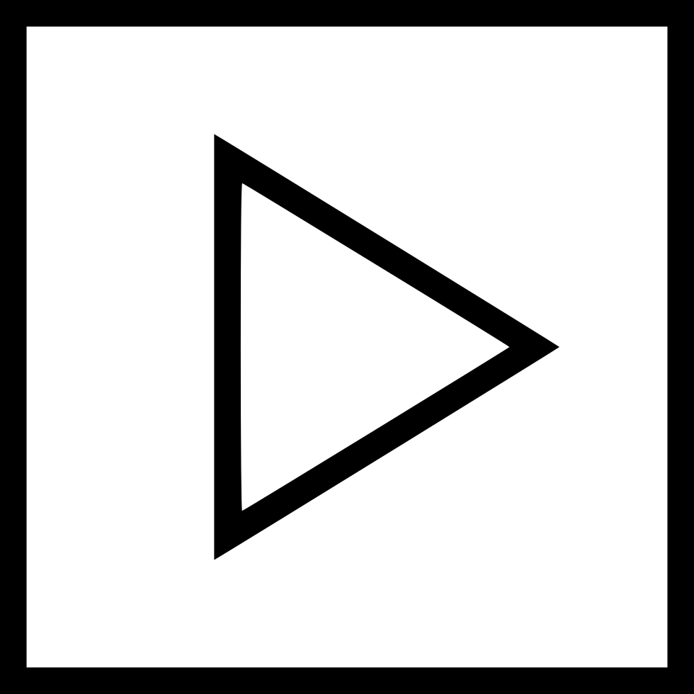 H Next Forward Right Direction Triangle Square