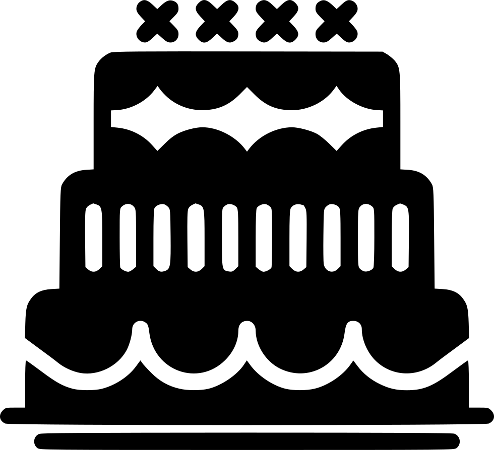 Birthday Cake Svg Png Icon Free Download 443259