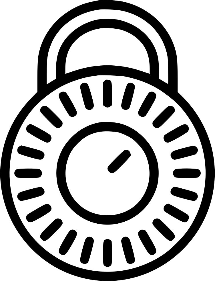 Combination Lock Closed