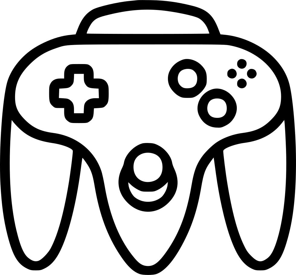 nintendo controller svg png icon free download   446028