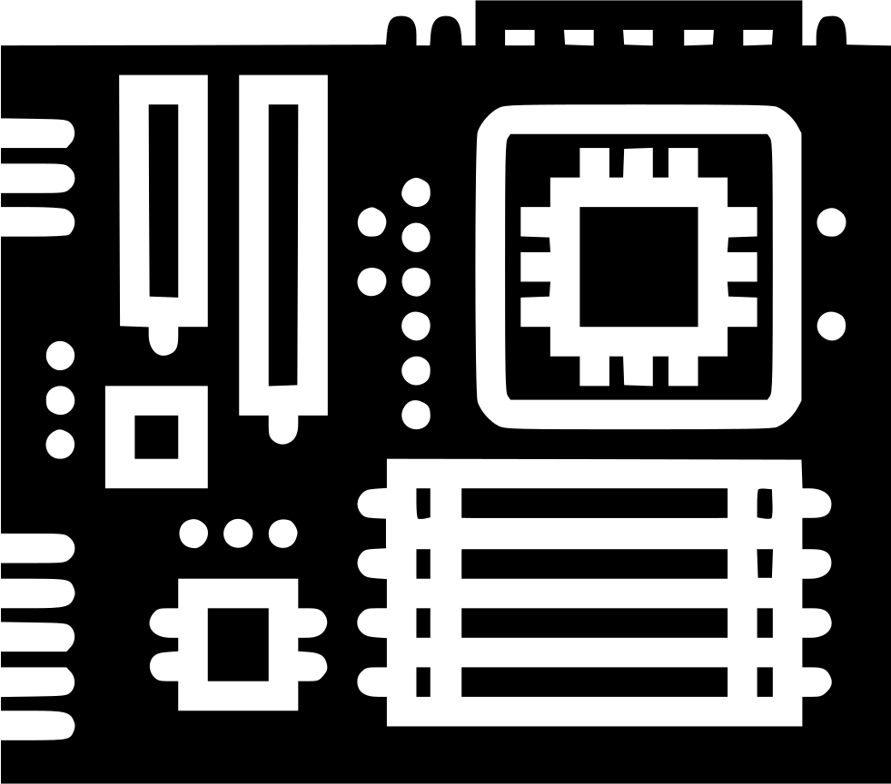 Motherboard Svg Png Icon Free Download (#446136) - OnlineWebFonts.COM