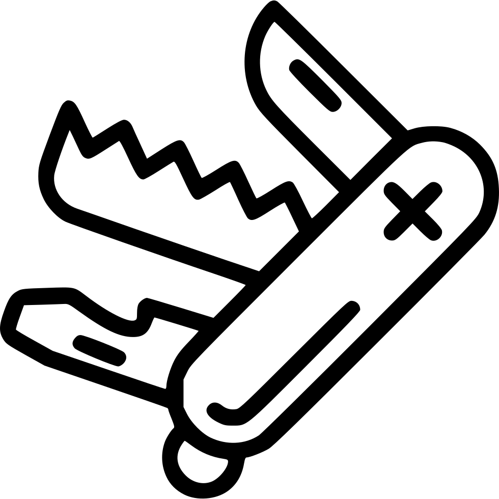 Swiss Army Knife Svg Png Icon Free Download 446961