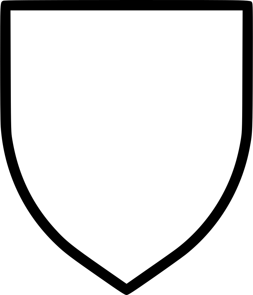 Shield Blazon Logo Sign