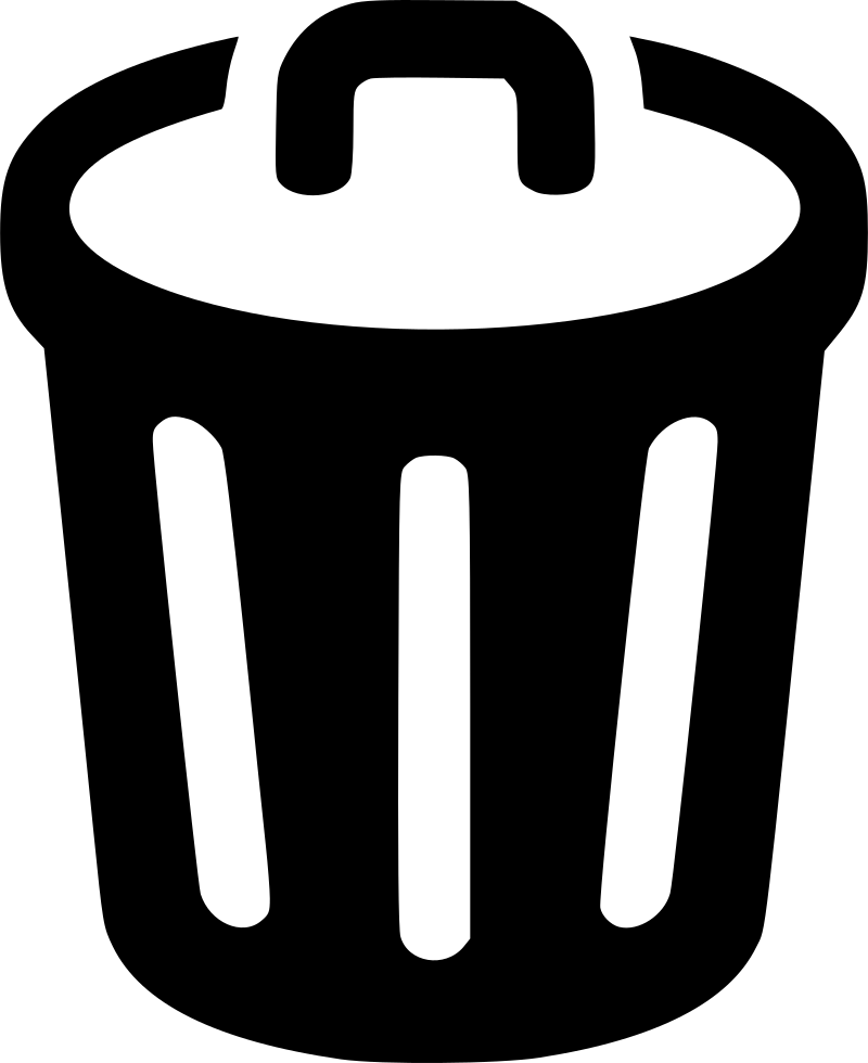 Trash Can Svg Png Icon Free Download (#449334 ...