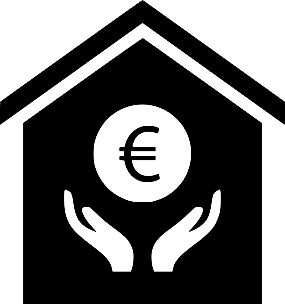 Hand Euro Sign