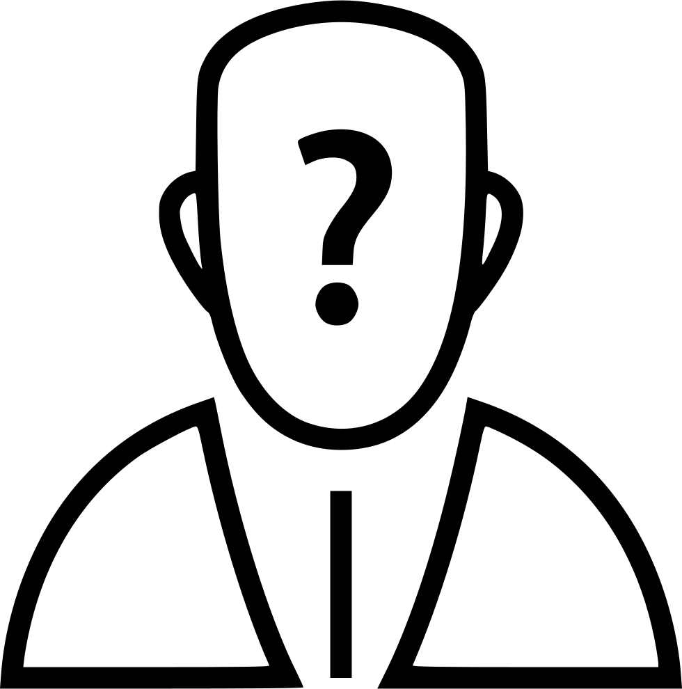 Question Mark Avatar Person Banking Online