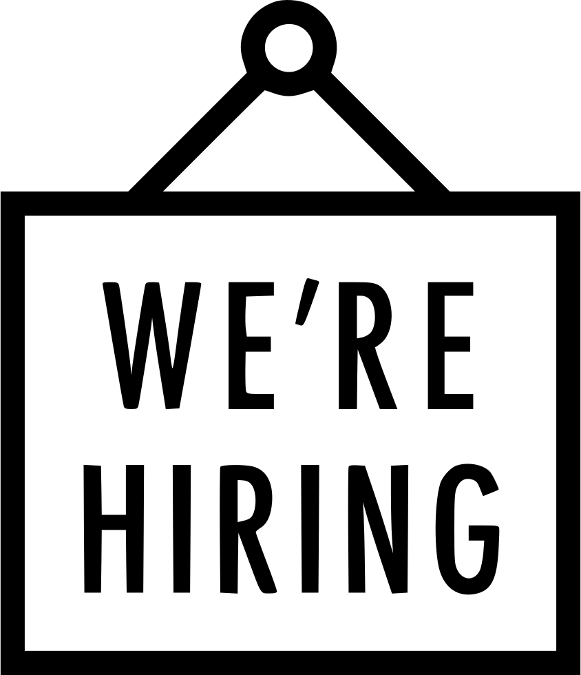 we are hiring sign svg png icon free download   453415