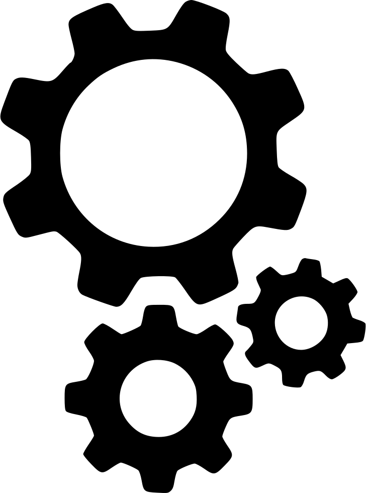Gears Support Options Cogs Preferences Configure Configuration