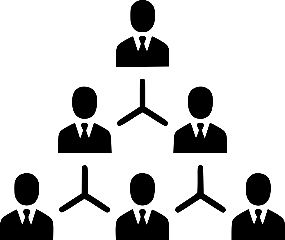 Hierarchy Management Structure Company Organization