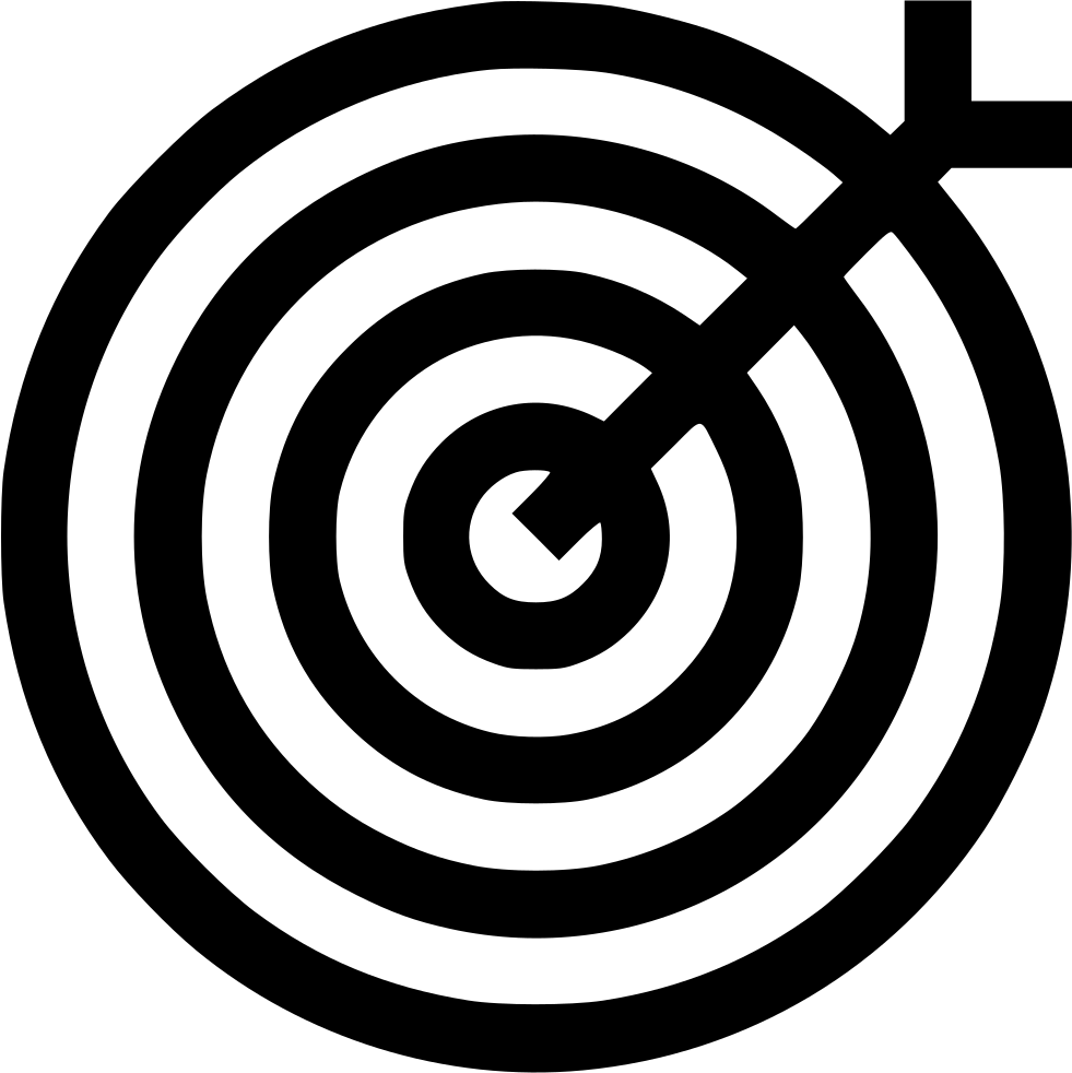 Dart Target Focus Marketing Illusion Aim