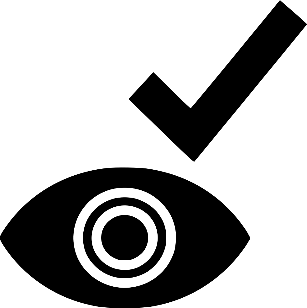 Check Mark Eye
