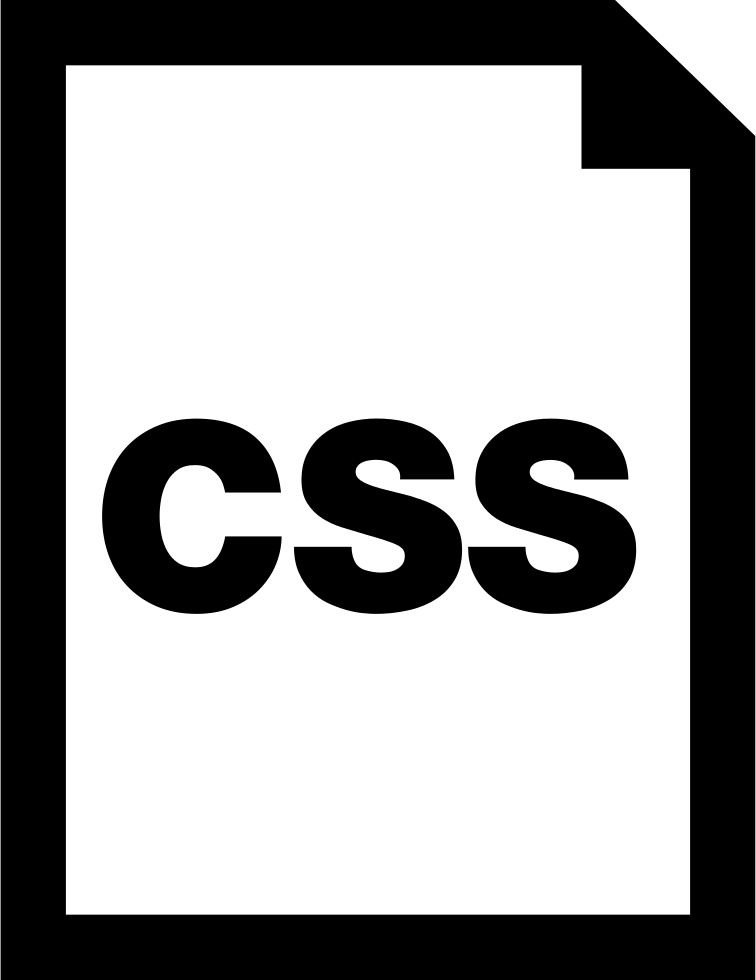 Css Document Interface Symbol
