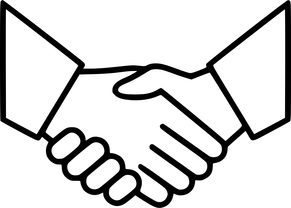 business agreement deal partnership handshake svg png icon clipart man shaking hands clipart man shaking hands