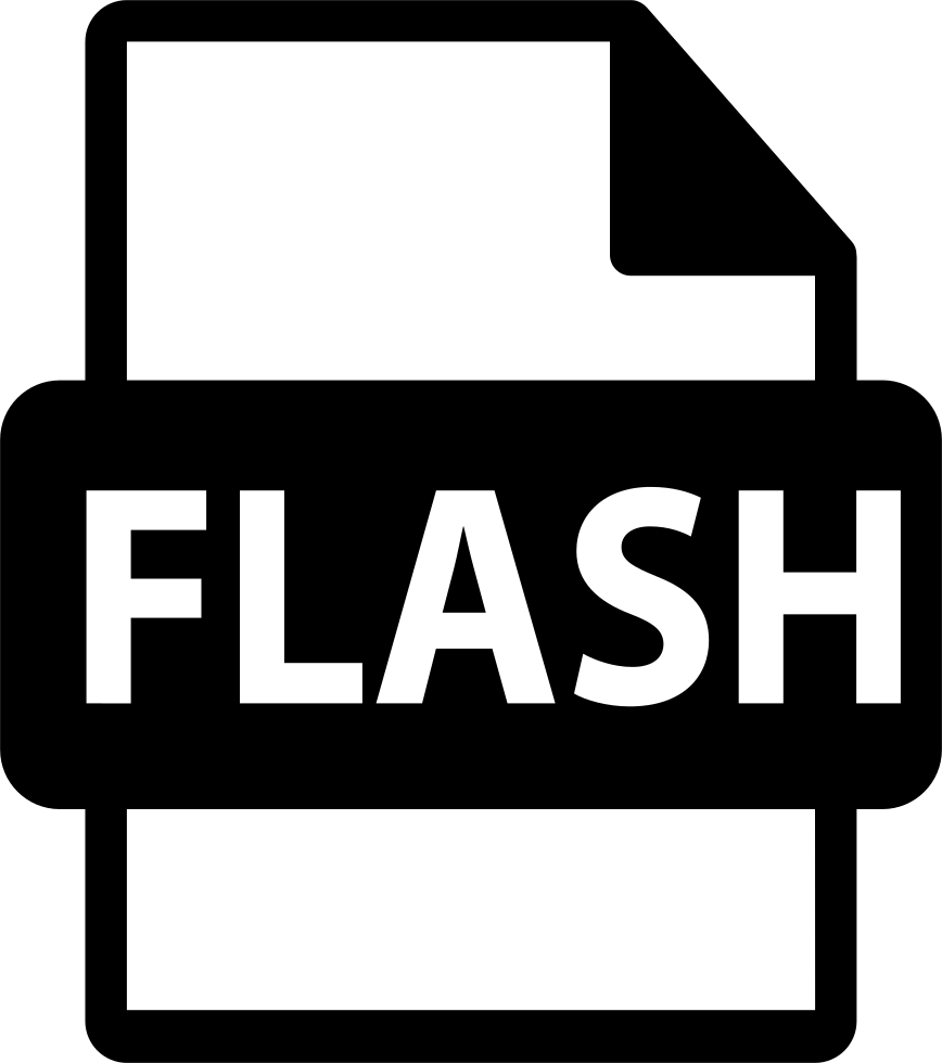 Flash File Format Symbol