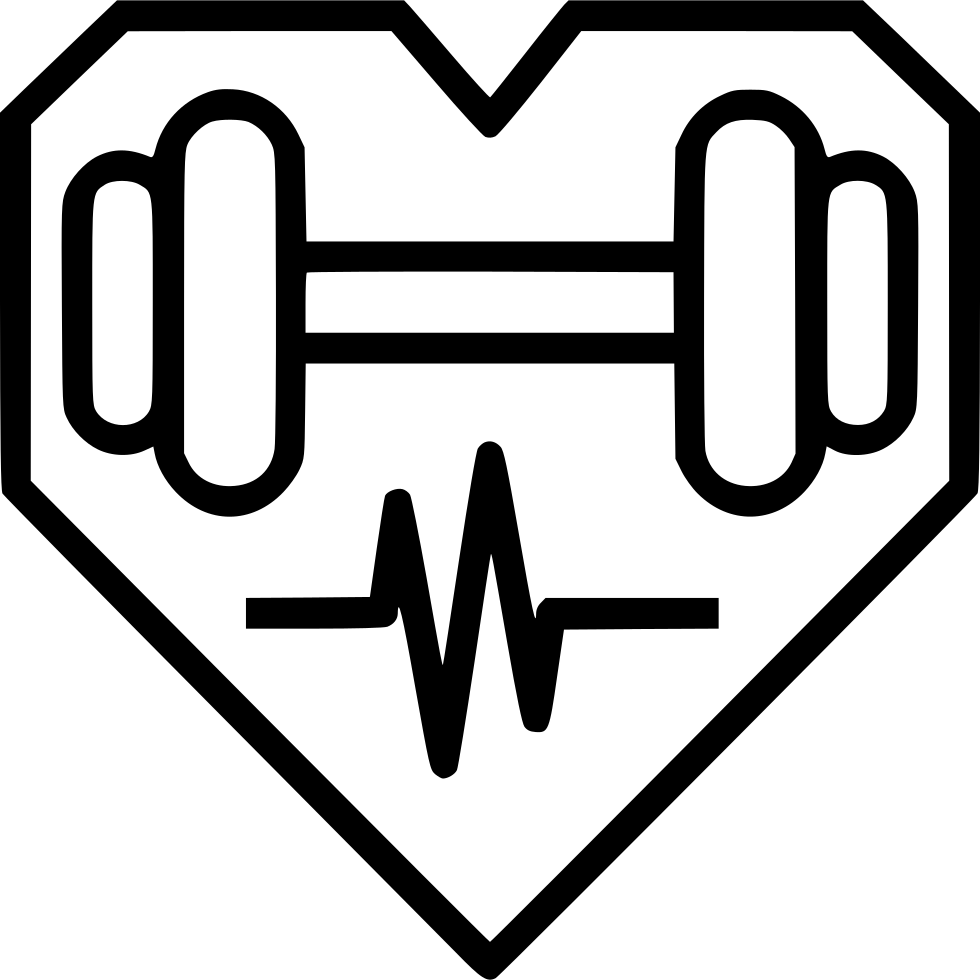Health Heart Dumbbell Fitness Exercise
