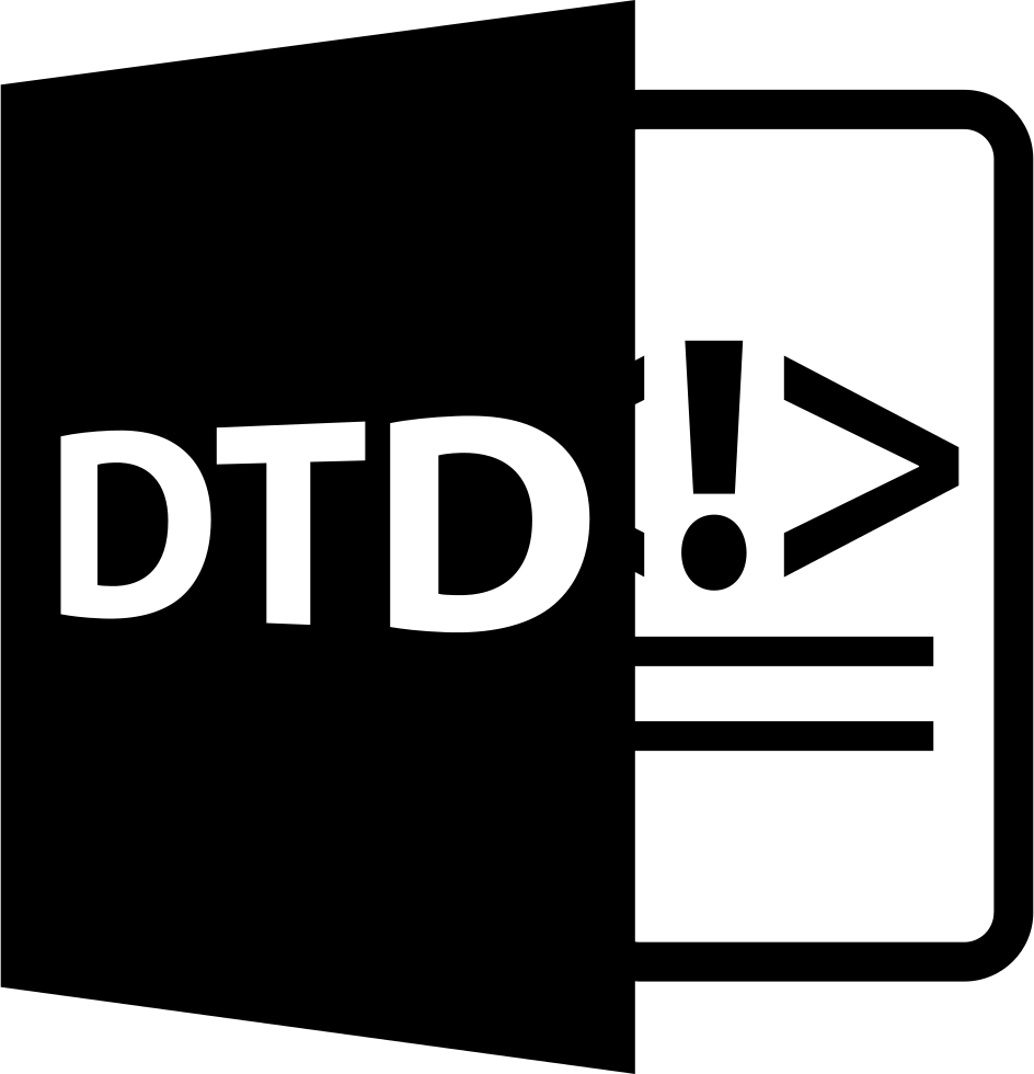 DTD File Format With Codes