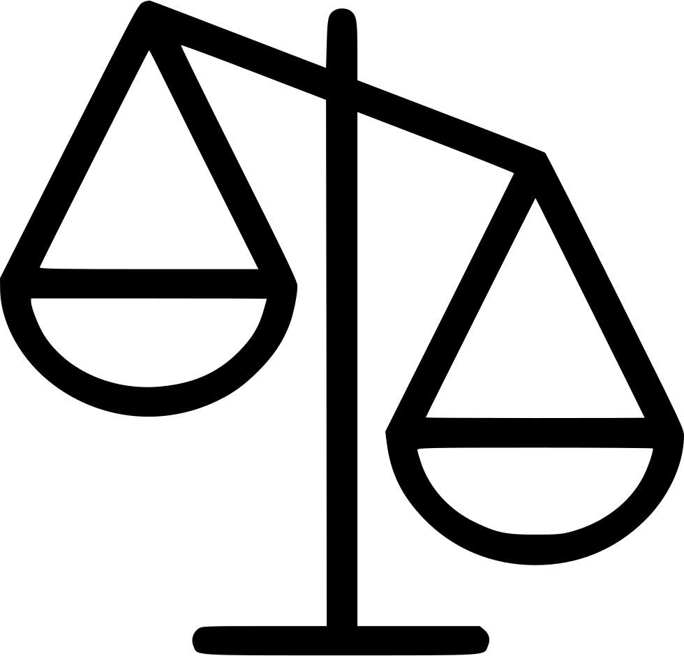 Scale Justice Law Attorney Svg Png Icon Free Download ...