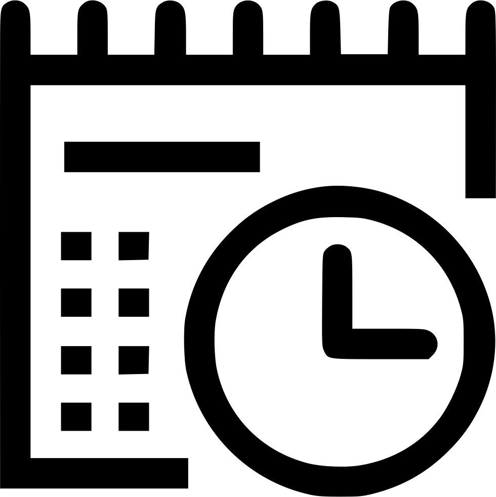 Planner Svg Png Icon Free Download 464766
