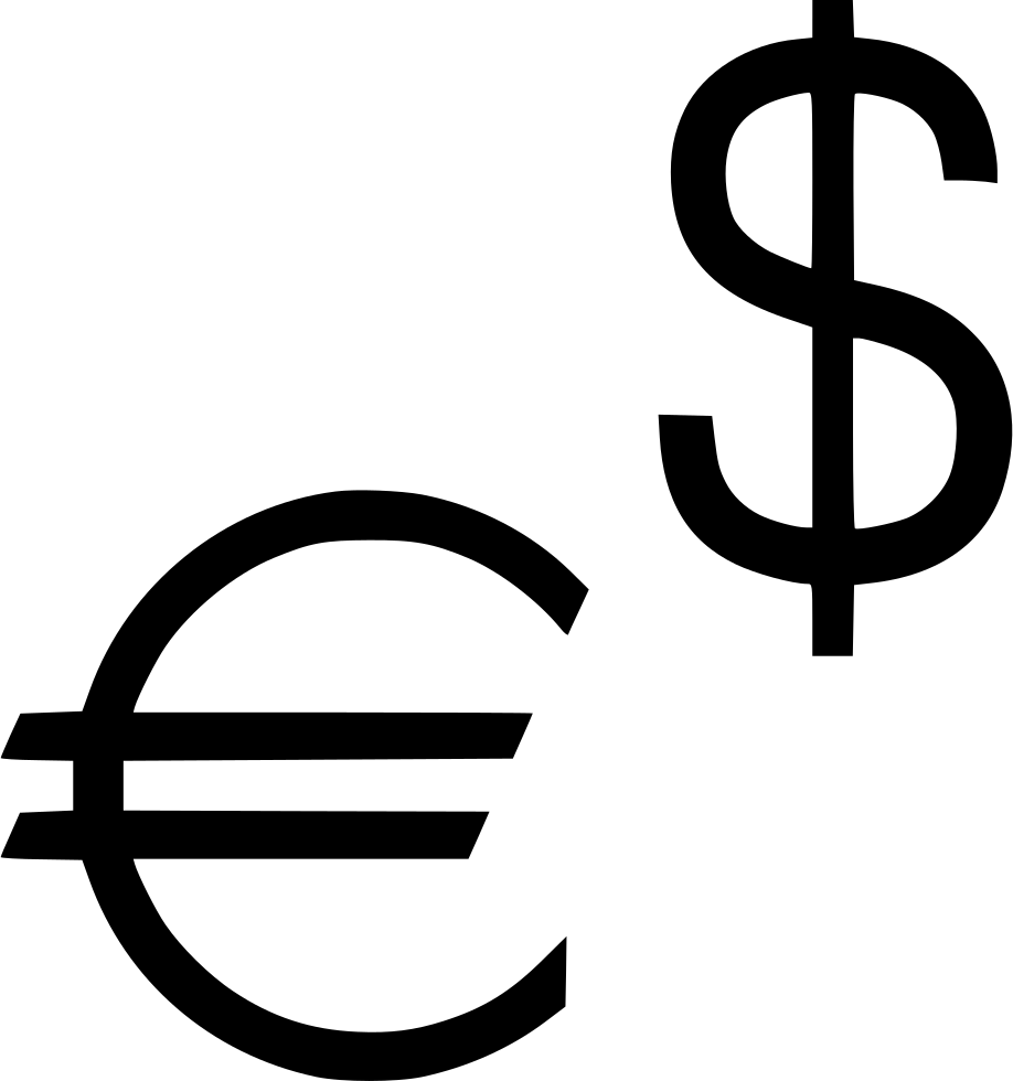 Dollar Us Euro Europe Sign