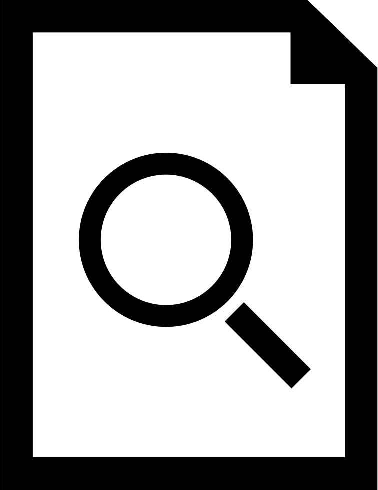 Document Search Symbol