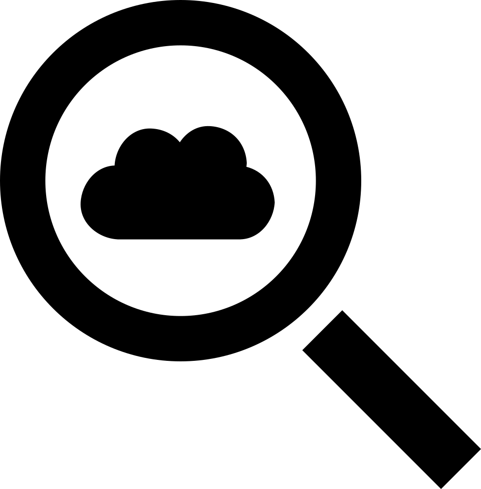 Cloud Search Interface Symbol