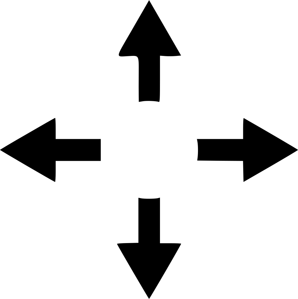 Arrow Arrows Expand Navigation