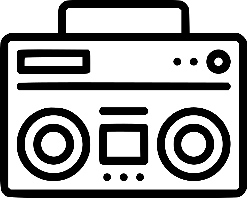 Audio Speaker Music Boombox Radio Sound