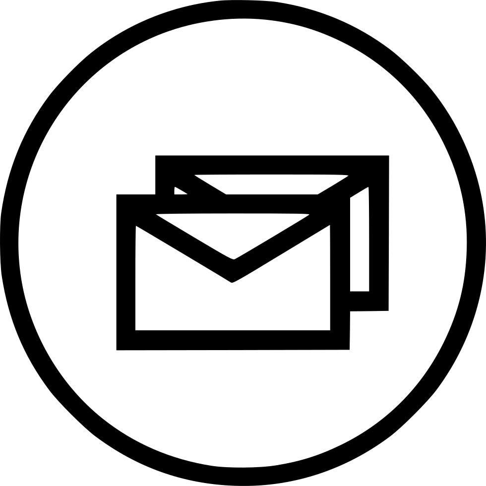 Main Message Envelope Email Text Multiple Combo