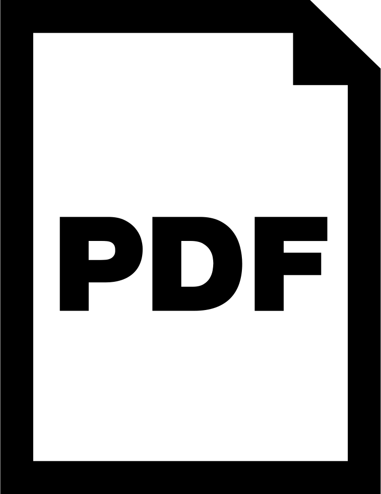 Pdf Document Interface Symbol