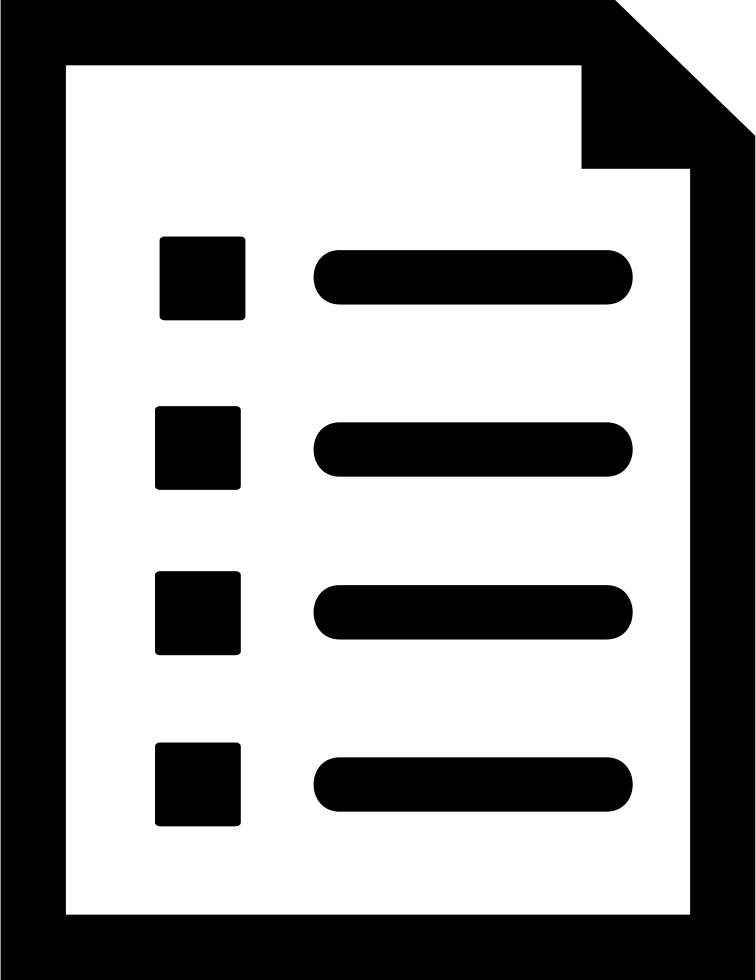 List Document Interface Symbol