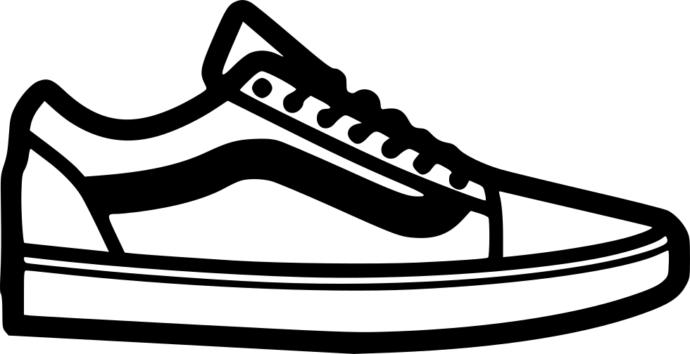 Vans Shoes Free Vector Icon