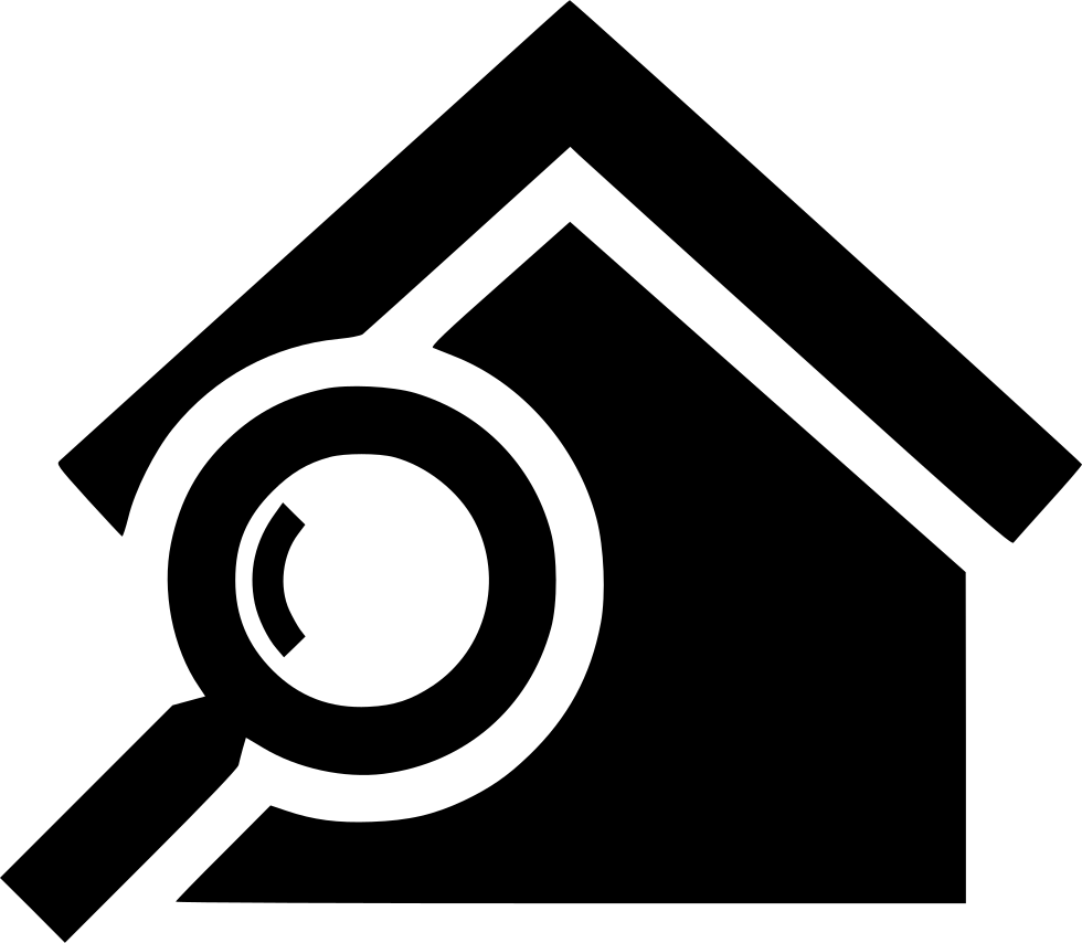 Find House: Search House Svg Png Icon Free Download (#473714