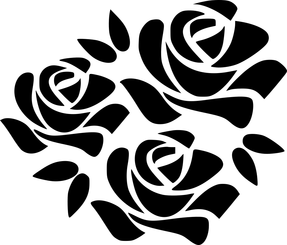 Flower Black And White Transparent Png Pictures: Bouquet Flower Flowers Marriage Svg Png Icon Free Download