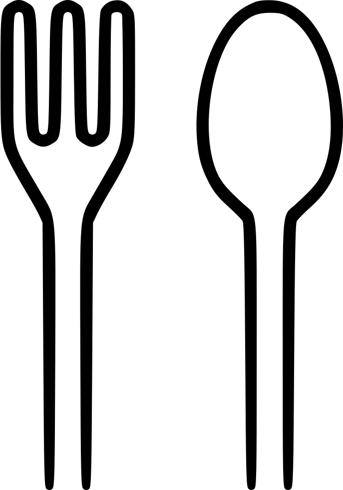 Spoon Fork Svg Png Icon Free Download (#483625 ...