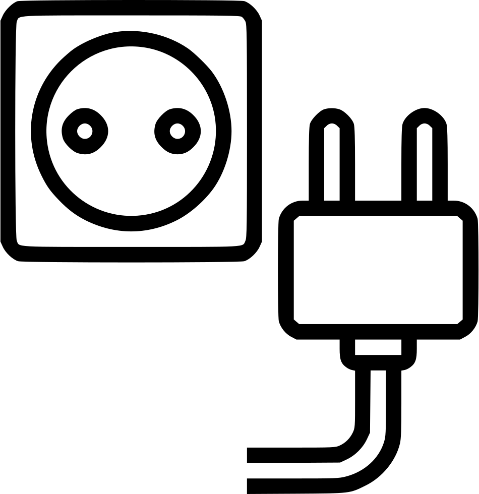 electric ground jack socket power plug wire svg png icon