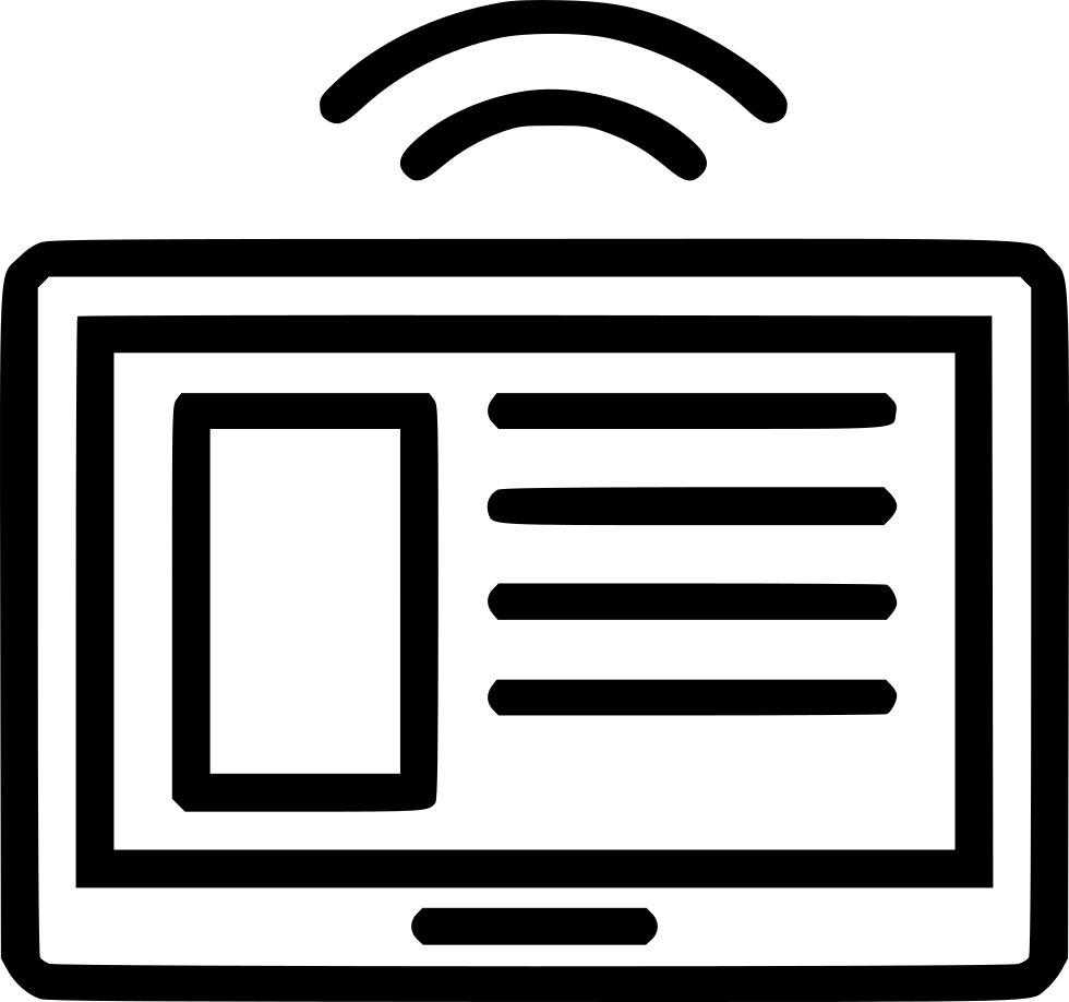 Tablet Smart Signal Rss Feed