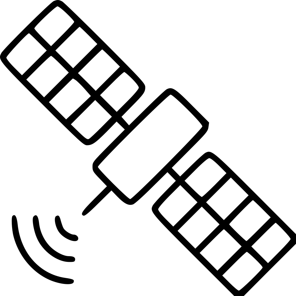 Satellite Space Orbit Wireless Connection Antenna Internet