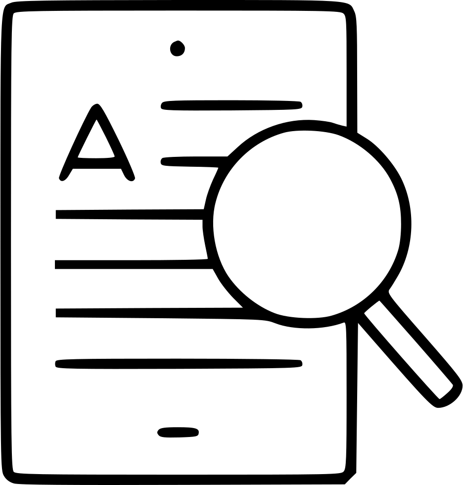 Tablet Magnifying Glass Information Find Inspect Text