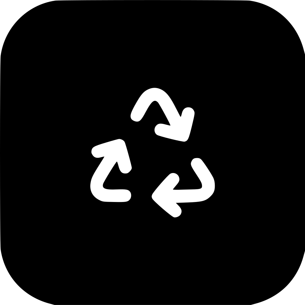 Recycle Bin Triangle Arrows Recyclebin Trash Sign