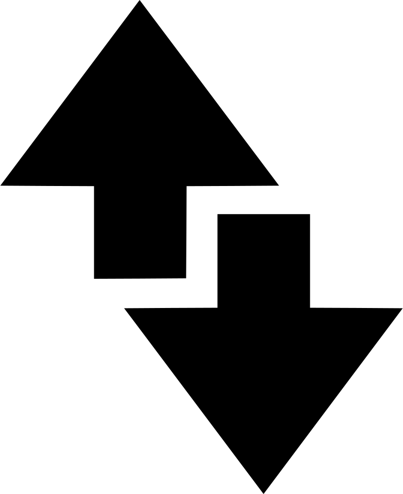 Data Network Internet Edge Up Down Arrow Svg Png Icon Free ...