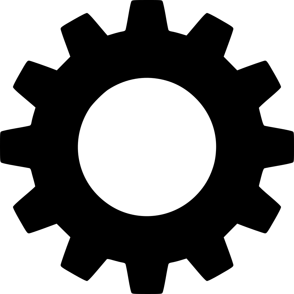 Gear settings icon png
